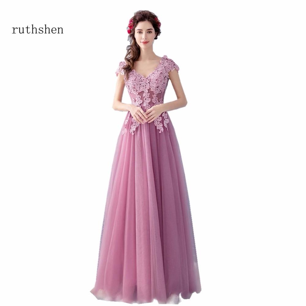 Discount Designer Evening Dresses: Ruthshen Elegant A Line Formal Prom Dresses Cheap