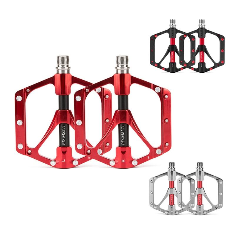 Pédale de vélo VTT titanium alliage pédales léger foulage Palin Équitation cheville