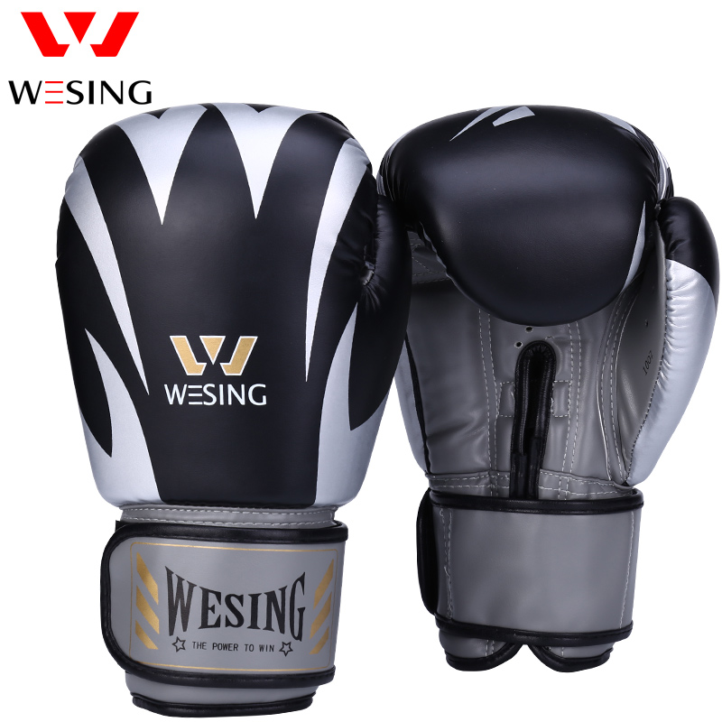 Wesing Boxing Professional Training Sanda Boxing Gloves Adult Men Women Training Sandbag Muay Thai Fighting Gloves New 2018 цены