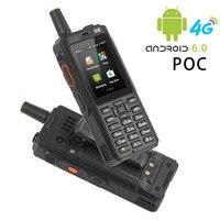 7S+ 4G POC walkie talkie Android 6.0 handphone intercom hanset portable radio smart phone telephone moblie police walkie talkie
