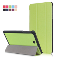 Business Solid Stand Magnetic Ultra Slim PU Leather Flip Funda Case Protective Stand Cover For NOOK