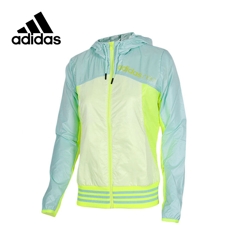 New Arrival Original Adidas NEO Label Women's Patchwork Jacket Hooded Sportswear original new arrival official adidas neo women s knitted pants breathable sportswear