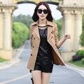 Куртки Женщины 2017 весна новые случайные куртка женщин ветровка куртка женская мода тонкий пальто женщина