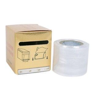 Image 5 - 1 рулон 42 мм * 200 м, пластиковая обертка для тату, защитная пленка, полуперманентный макияж, тату, подводка для бровей, тату, защитный аксессуар