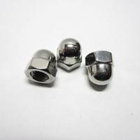 1000/500/400/100Pcs M3 M4 M5 M6 M8 304 Stainless Steel Cap Nuts Decorative Cover Semicircle Acorn Nuts
