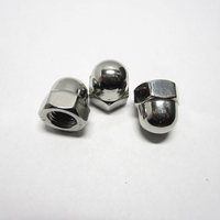 1000Pcs M3 M4 M5 M6 M8 304 Stainless Steel Cap Nuts Decorative Cover Semicircle Acorn Nuts