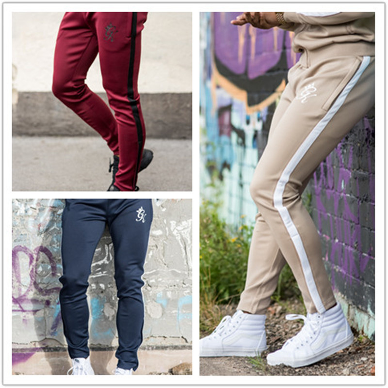 Sports & Entertainment Running Supply Men Gym Fitness Sweatpants Man Jogger Running Workout Training Trousers Pant Male 2018 Autumn New Cotton Slim Pants Sportswear