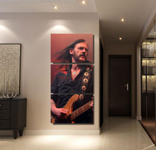 Canvas Paintings Living Room Wall Art HD Printed 3 Pieces Motorhead Lemmy Poster Home Decorative Modular Pictures Framework