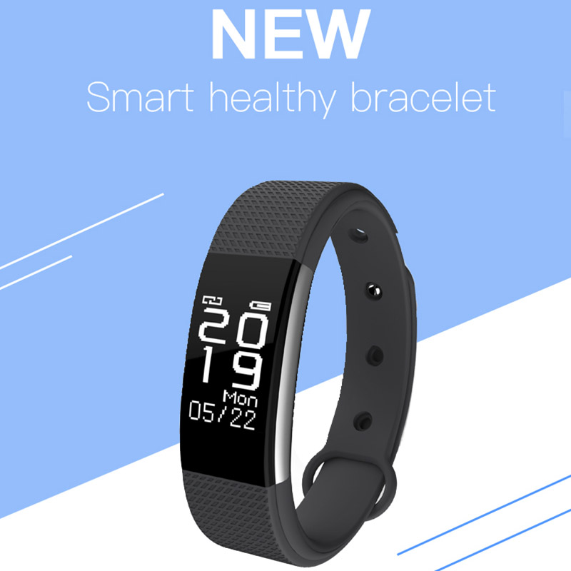 SF7 Smart Wristband Bracelet Fitness Heart Rate Tracker Pedometer Call Reminder Smarband for Samsung Galaxy S9 Plus S9 S8 Plus plus heart