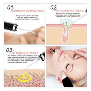 Image 5 - Ultrasonic Skin Scrubber fac ลึกทำความสะอาด Peeling Shovel ทำความสะอาดผิวหน้า Blackhead Remover Face Lifting USB ชาร์จ 49