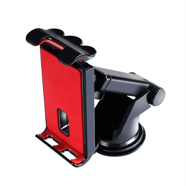 Car Phones Tablets holder for Samsung Honor IPAD pro air mini 1234 7 8 GPS 360Degree adjustable Mobile suction cup bracket stand 2