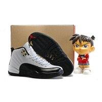 Jordan Air Retro 12 XII Men Basketball Shoes TAXI Flu Game The Master Varsity Red Deep