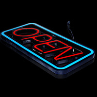 42*20cm size Bright Led Open Neon sign For Business Shop Store & Window Display