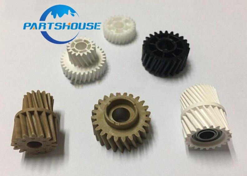 1Sets Compatible new Fuser drive gear for Konica Minolta Bizhub C451 C550 C452 C552 C650 C652 fuser gear for Konica gear 6PcsSet