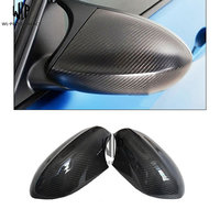 real M3 Carbon Fiber replacement Rear View Mirror Cover Rearview Mirror For BMW M3 2007 2012 car body kit