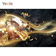 Yeele Casino Dice Chip Poker Poster Personalized Wallpapers Canvas Vinyl Boss Photography Backgrounds Backdrops For Photo Studio