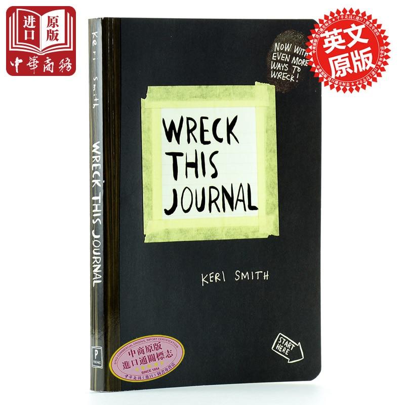 Wreck This Journal Everywhere [English Language Book]