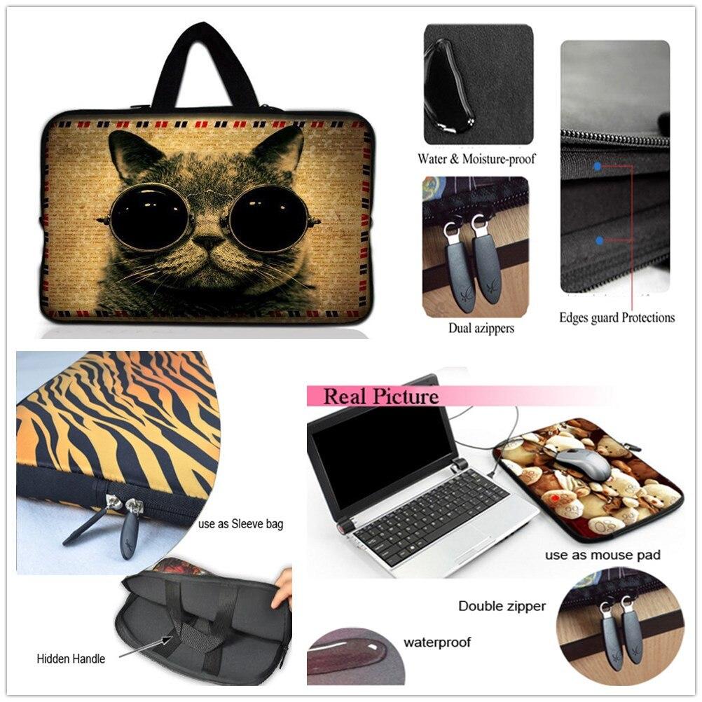"""15/"""" Laptop Computer Sleeve Case Bag w Hidden Handle 773"""