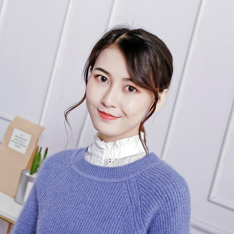 Detachalbe Collar Faux Cols Ruffe Lace Fake Collars Sweater Women Sweatshirt Accessories Nep Kraagje Blouse Tie Lapel Shirt
