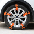 10PCS Car Winter Tyres Wheels Snow Chains 145mm-215mm For Cars Suv Anti-Skid Chains Automobile Ice Road Anti Wheel Slip Chain