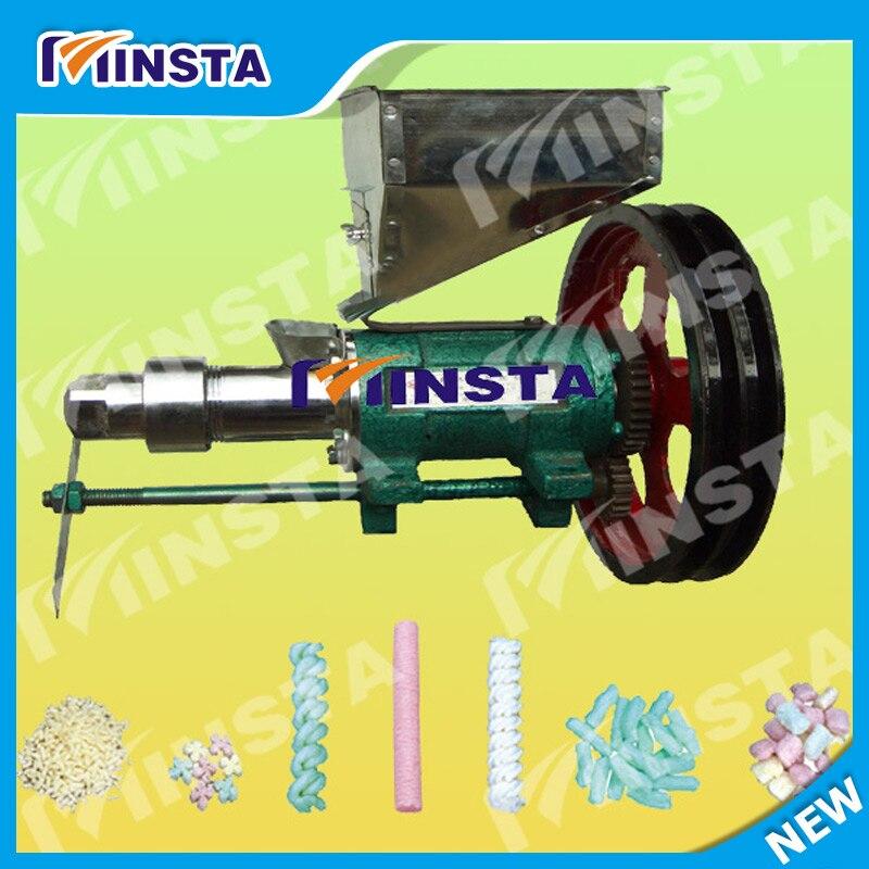 Machine d'extrudeuse de maïs et de riz avec 7 moules à usage commercial