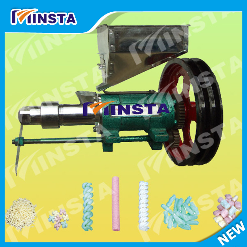 Free Shipping Corn And Rice Extruder Machine With 7 Mould Commercial Use