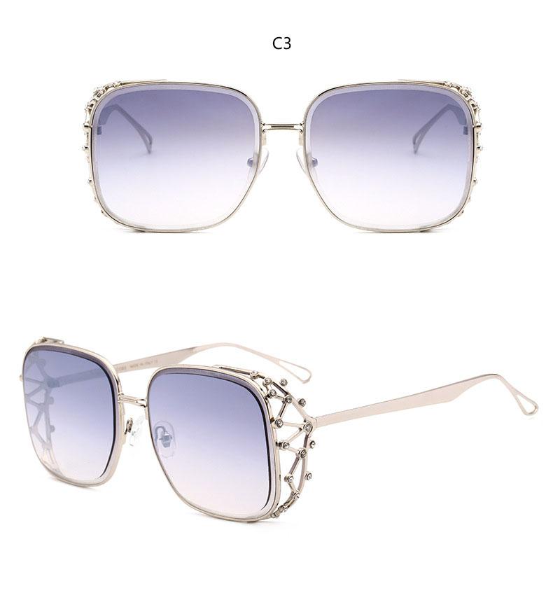 HTB1hkf6o3oQMeJjy0Foq6AShVXau - Steampunk Square Luxury Designer Rhinestone Sunglasses