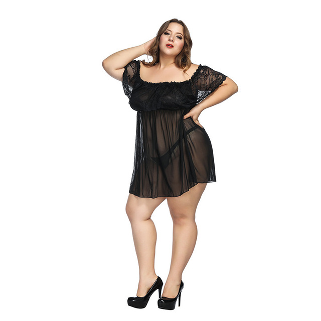 Daininus Hot Plus Size Sexy Lace Lingerie Clothes