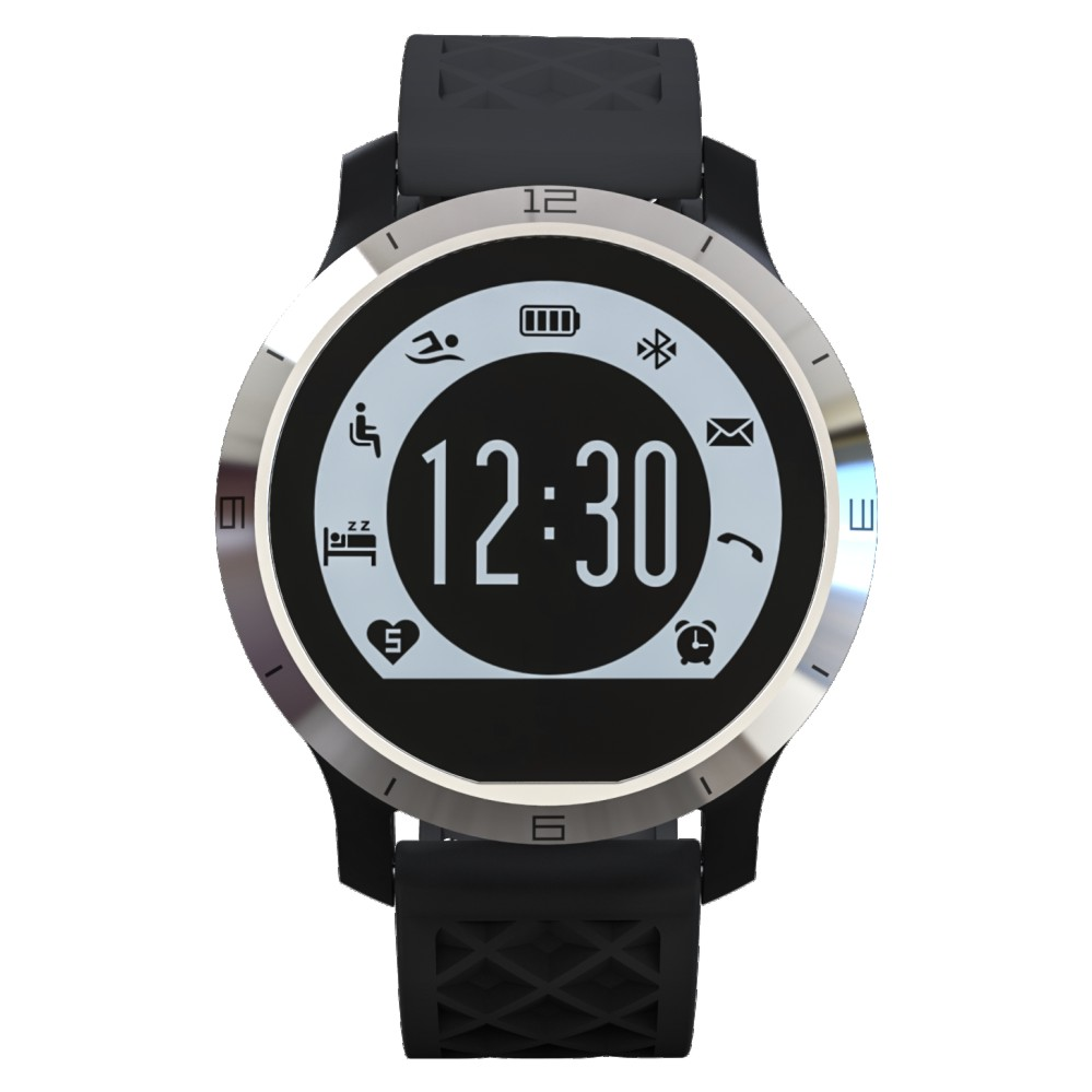 Sport Swimming Waterproof Bluetooth Smartwatch F300 Heart ...