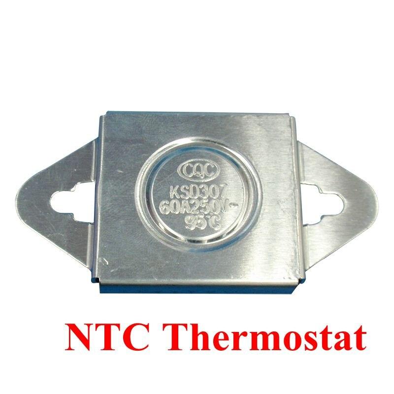 100PCS KSD307/KSD308 50C-150C degrees 95C The sealing temperature relay 250V 60A