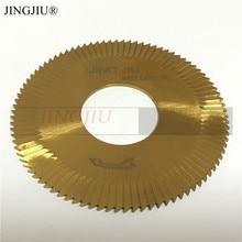 Fresa a disco (70X1.3X25.4x90 T) 0020A in HSS per Wenxing Macchina di Taglio Chiave 100D, 100E, 100E1, 100F, 100F1