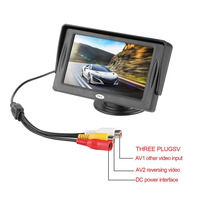 Newest 4 3 Inch HD Car Rear View Monitor TFT LCD Color Display Screen Vehicle Security