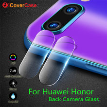 Back Camera Tempered Glass Film For Huawei Honor 10 9 Lite 8 8X Max P smart+ 2019 Case Mobile Phone Accessories Protector Lens(China)