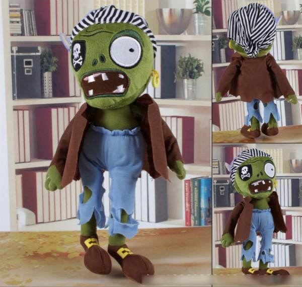"30CM 12"" Plants vs Zombies Soft Plush Toy Doll"