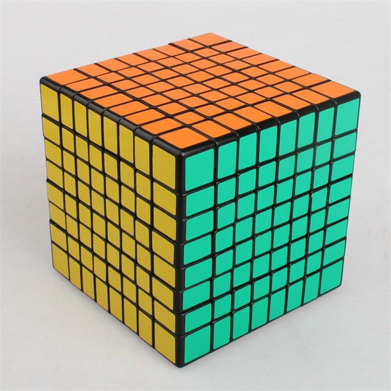 Cube magique éducatif Rubike 8*8*8 Puzzle Cubes jeux professionnel Anti-Stress Anti-Stress jouets pour enfants enfants adultes