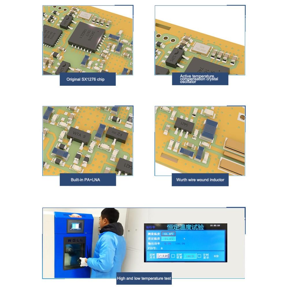 868 MHz LoRa SX1276 rf Module longue portée E32-868T30D UART 1W iot rf émetteur-récepteur et récepteur 868 MHz Ebyte rf