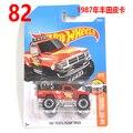 2017 Nueva Hot Wheels camioneta toyota 1987 Modelos de coches de Metal Diecast Juguetes de Colección de Coches Para Niños Juguetes de Vehículos