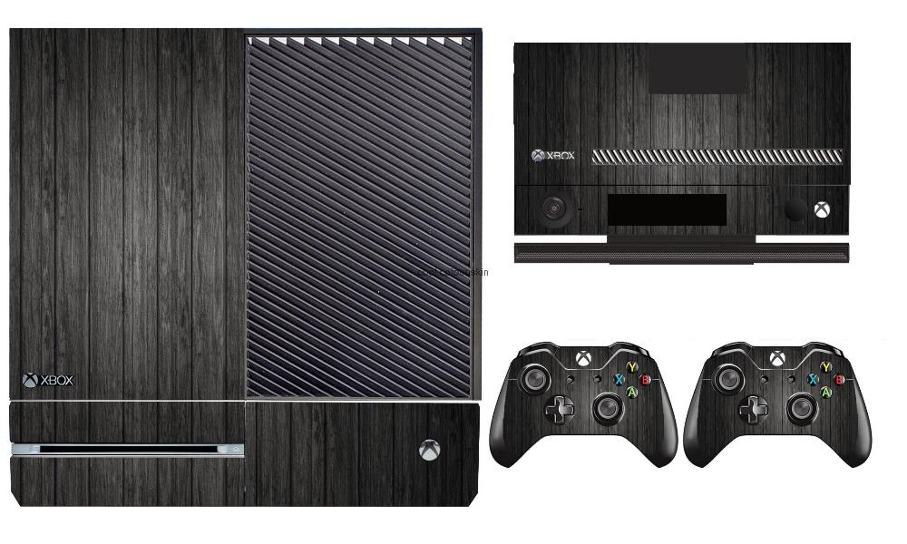 Wood 267 Vinyl Skin Sticker Protector for Microsoft Xbox One and 2 controller skins Stickers for XBOXONE