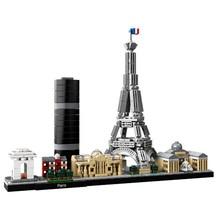 Архитектура Skyline коллекция Париж коллекция подарок строительные блоки комплект городской кирпич классическая модель детские игрушки для детей подарок