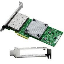 4 Port Gigabit Ethernet Network Card SFP 10/100/1000M I350AM4 Chipset for Server