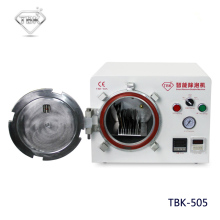 TBK-505 Multi-functions Autoclave Smart Bubble Remove Machine Built-in Air Compressor No Electric Noise For LCD Screen Refurbish