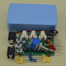 New DIY Distortion pedal Guitar Effect Pedals Electric Effects Light blue Suite Electric guitar effects pedals DS-NO1