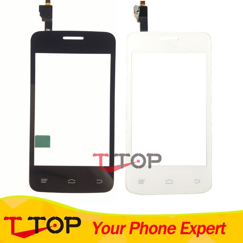 For Fly IQ434 ERA Nano 5 Touch Screen Digitizer Front Glass Sensor Touch Panel Black White Color 1PCS/Lot