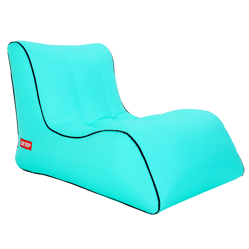Image 5 - Inflatable bean bag sofa  outdoor beach chairs  beanbag lounger air lazy chair-in Beach Chairs from Furniture