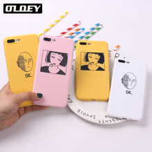 TOMOCOMO para iPhone 6 6 S 5 5S SE 8 8X7 7 Plus XS Max suave TPU cubierta de silicona mate ANIME One Punch hombre chica(China)