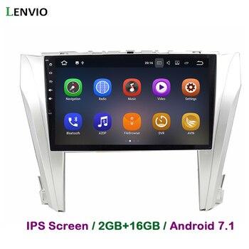 Lenvio 2G RAM 2 Din Android 7.1 CAR Radio GPS Navigation For Toyota Camry 2015 2016 Car DVD Player multimedia WIFI BT DAB IPS 3G