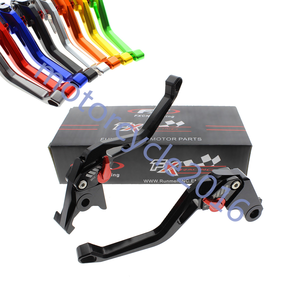 FXCNC CNC 3D New Rhombus Hollow Adjustable Brake Clutch Levers 8 Colors A Pair For BMW R1200RT 2014-2017 R NINE T 2014-2016 billet alu folding adjustable brake clutch levers for motoguzzi griso 850 breva 1100 norge 1200 06 2013 07 08 1200 sport stelvio