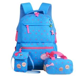 Image 3 - ZIRANYU star printing children backpacks For Teenagers girls Lightweight waterproof school bags child orthopedics schoolbags