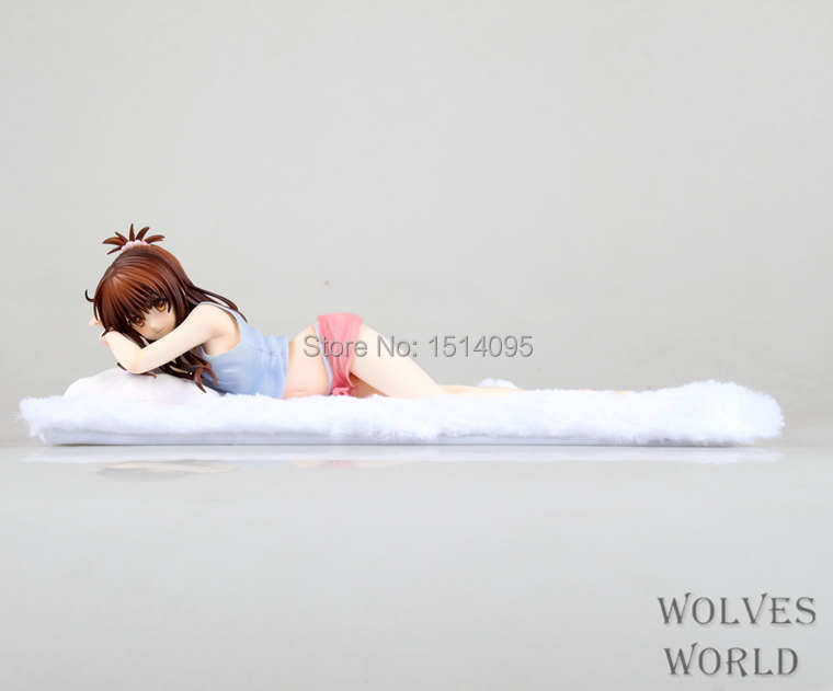 Sexy Girl Janpanese Anime To Love Yuuki Mikan PVC Action Figure Collection Model Toy 22CM SG039 free shipping sexy 7 tolve to love darkness momo yami lala yui pvc action figure model collection toy gift 5 to choose