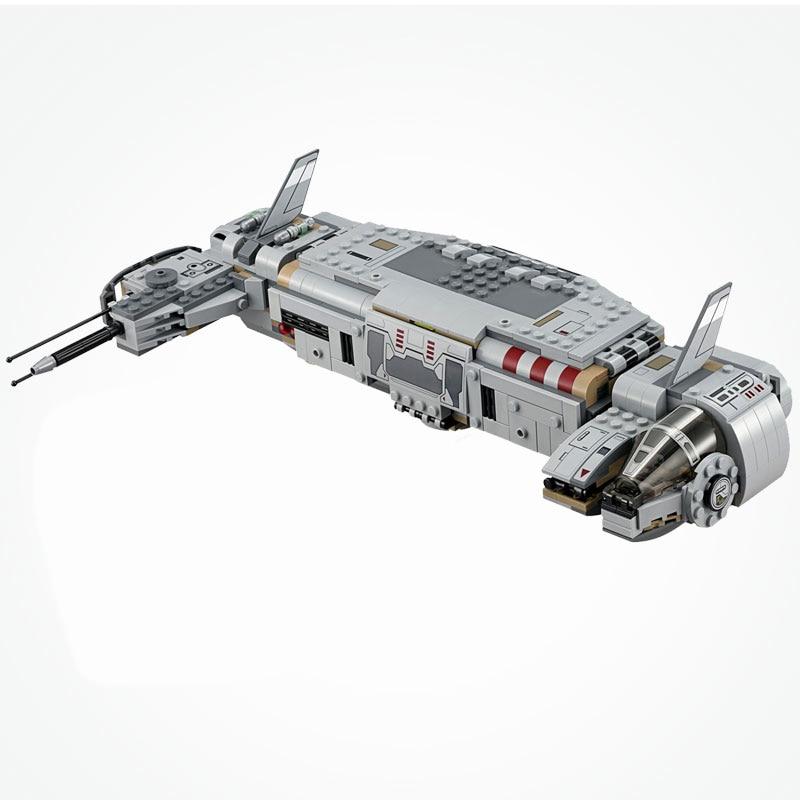 Star Wars Resistance Troop Transport Space Ship Star Wars Movie Set Blocks Toys Gifts Starwars